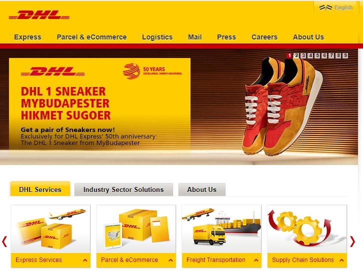 DHL Top 10 Logistics Companies in India
