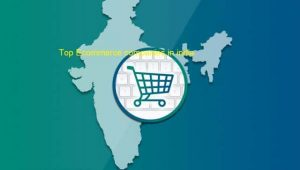 10 TOP E-COMMERCE COMPANIES IN INDIA 2021
