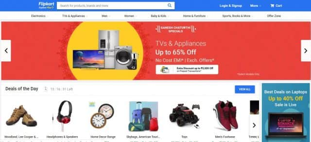 flipkart no2 | top ecommerce company in india