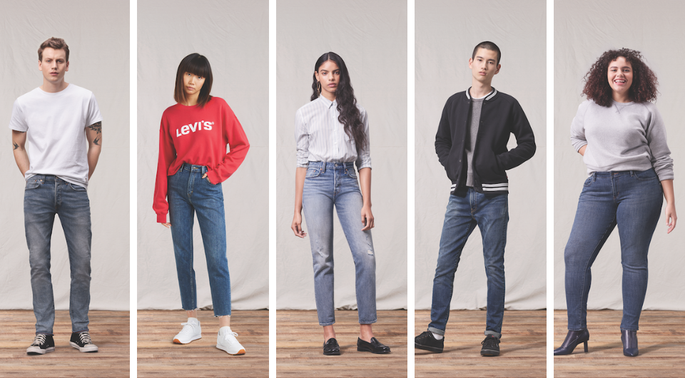 Levi's |top clothes brand