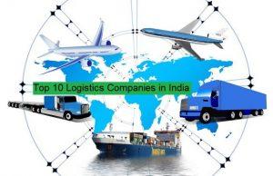 top 10 logistics companies in India.