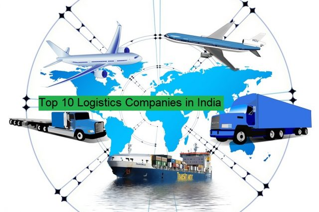 top 10 logistics companies in India.