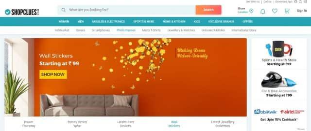shopclue no 10 ecommerce company in india