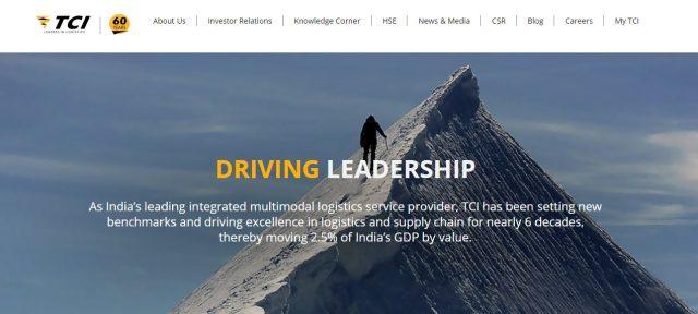 Top 10 Logistics Companies in India