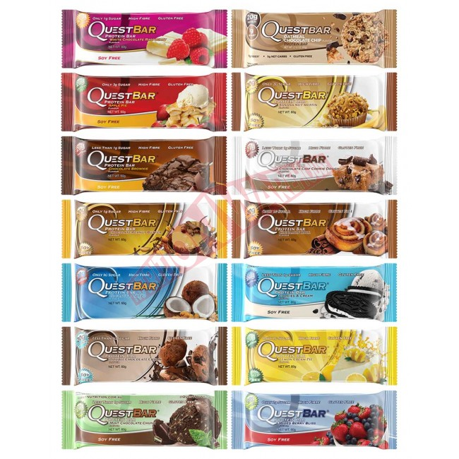 no. 10 protein Bars in India |Quest Nutrition's Quest Bars