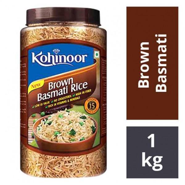 3. Kohinoor Basmati Brown Rice