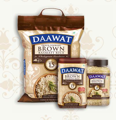 1. Daawat Quick Cooking Brown Rice