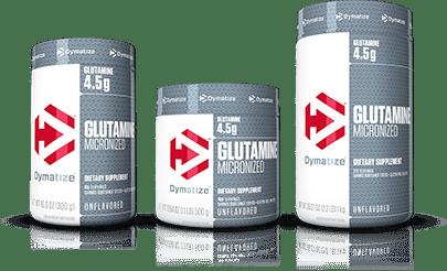 4.Dymatize Micronized Glutamine
