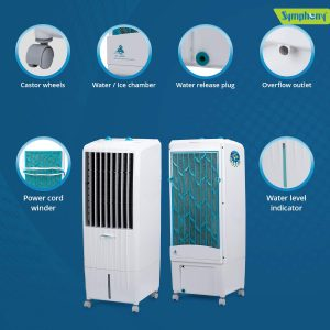Symphony Diet 12T 12-Litre Air Cooler-For small room